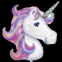 А ФИГУРА P35 Единорог Фиолетовый голова