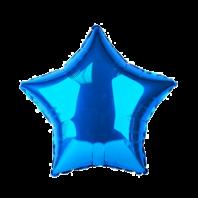 18 ЗВЕЗДА Металлик Blue/FM