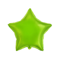 18 ЗВЕЗДА Металлик Lime Green