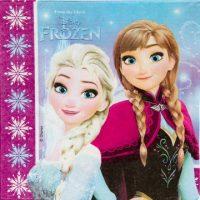 Салфетка Frozen Сев сияние 33см 20шт/Р