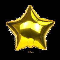 18 ЗВЕЗДА Металлик Gold (FM)